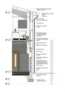 Hope Veterinary Surgery Building cross section