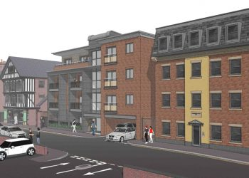 ctd architects Leek High Street project perspective view