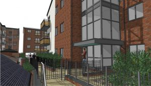 ctd architects drawing for High Street Project Leek Staffordshire