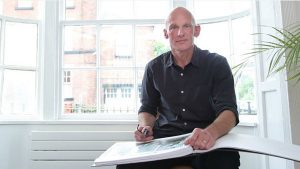 Chris Hesketh, architect director at ctd architects interviewed by the Stoke on Trent Sentinel newspaper