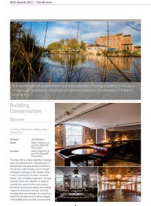 RICS AWARDS WINNER 2017_emids West Mill pages only-1