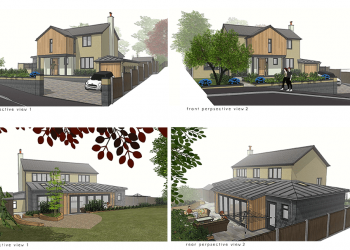 ctd architects residential development perspective views