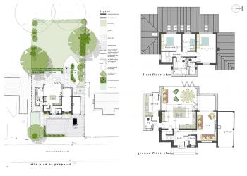 ctd architects residential development site plan & floor plans
