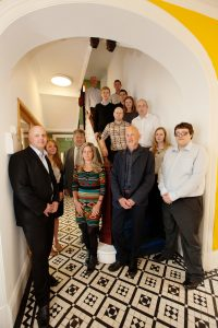 ctd architects staffordshire staff on stairs