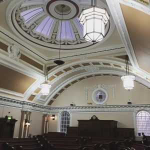 Stoke town hall Council chamber
