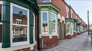 ctd architects red brick green house project balfour street, stoke on trent