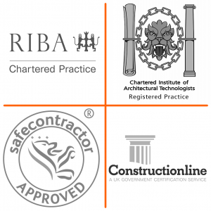 ctd architects accreditations RIBA, CIAT, Constructionline and Safecontractor approved