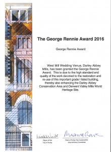ctd architects George Rennie Award cert 2016