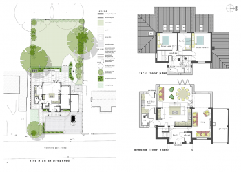 ctd architects residential development site plan & floor plans
