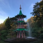 Alton Towers resort Pagoda Fountain Grade II* listed building restoration by ctd architects staffordshire