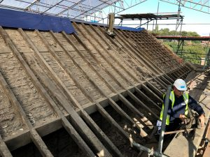 Conservation roof repair Long Mill Derbyshire