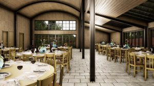 Consall Hall estate hospitality venue visuals ctd architects