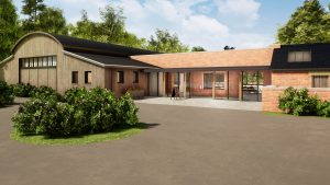 Consall Hall estate hospitality venue visuals ctd architects