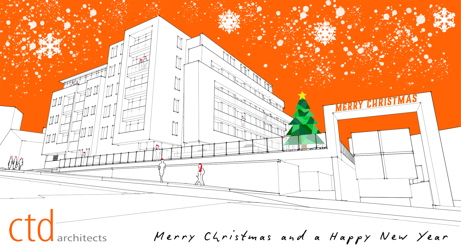 ctd architects Merry Christmas 2018